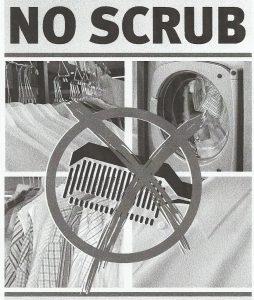 no scrub
